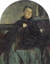 Портрет артистки Г.Н.Федотовой. 1905