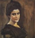 Портрет С.М.Драгомировой-Лукомской. 1900