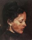 Портрет О.Ф.Серовой. 1889-1890