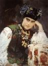 Портрет С.М.Драгомировой. 1889