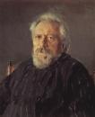 Портрет писателя Н.С.Лескова. 1894
