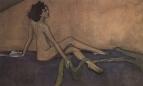 Портрет Иды Рубинштейн. 1910