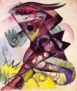 Калибан, эскиз костюма к Буря Шекспира