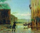 После дождя (Весна в Петербурге). 1867