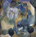Цветущие горы (В ущелье Ахуряна). 1905
