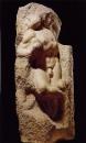 Пробуждающийся раб. ок. 1530. Мрамор. Академия изящных искусств, Флоренция