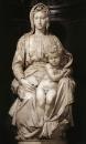 Мадонна с младенцем. Мрамор. Ок. 1501. Брюгге, церковь Нотр-Дам.