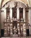 Гробница Юлия II. 1542—1545. Рим, церковь Сан-Пьетро-ин-Винколи.