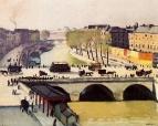 Понт-Нёф и набережная Сент-Августин . 1910—11 музей изящных искусств Гренобль