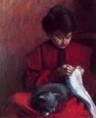 Портрет матери художника  1904