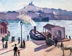 Caballo en Marsella  1916