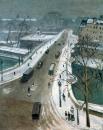 El Puente Nuevo bajo la nieve 1938