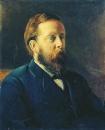 Портрет А.В. Вышеславцева. 1880 Холст, масло. Тамбов