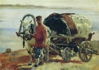Возок. 1891 Холст, масло. Днепропетровск