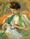 Мама Роуз, кормящая своего ребенка