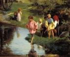 «Дети на рыбалке» 1882