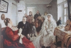 В ожидании шафера, 1891