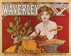 Плакат Waverley Cycles 1898