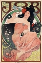 Рекламный плакат сигаретной бумаги 'Иов' 1898