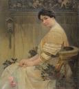 Портрет жены художника Марушки 1917