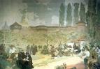 Славянский эпос. Печатание Кралицкой Библии в Иванчицах 1914