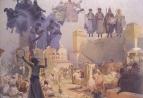 Славянский эпос. Введение славянской литургии 1912