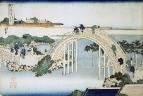 Мост у храма Камэйдо Тэндзин