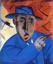«Портрет артиста»  1914 г. Холст, масло. 104 х 88 см.