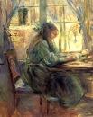 1891 Berthe Morisot Ecrivant a la Fenetre