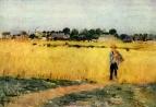 В пшеничных полях близ Женвилье