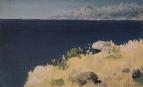 Морской берег. Крым. 1885-1890
