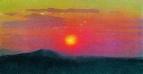 Красный закат. 1890-1895