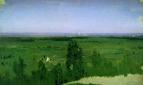 Вид на Москву с Воробьевых гор. 1882