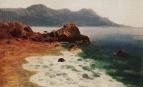 Берег моря. 1885-1890