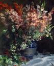 Гладиолусы в вазе