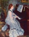 Женщина у клавира