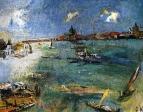 Венеция - лодки на Догана