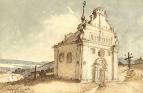 Богданова церковь в Суботове, 1845