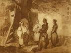 Встреча Тараса Бульбы с сыновьями, 1842