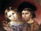 Портрет детей В. М. Репнина