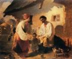 Крестьянская семья, 1843