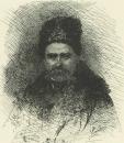Автопортрет в шапке и тулупе, 1860