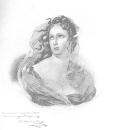 Женская головка, 1830