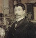 Автопортрет с раковиной. 1905.