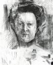 Портрет В.А.Усольцевой. 1905.