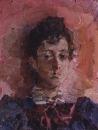 Портрет М.В.Якунчиковой. 1886-1889.