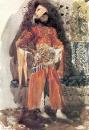 Персидский принц. 1886. Бумага, акварель, лак. 24,5x16,3 см. ГТГ