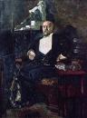 Портрет С.И.Мамонтова. 1897. Не окончен. Холст, масло. 187x142,5 см. ГТГ