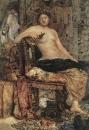 Натурщица в обстановке Ренессанса. 1883.