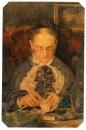 Портрет старушки Кнорре за вязанием. 1883. ГТГ